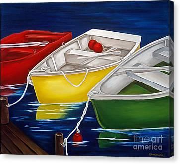 Quiet Days Canvas Print by Susan Murphy