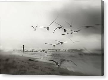 Quiet Dreams... Canvas Print