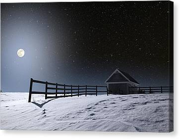 Canvas Print featuring the photograph Quiet Evening by Larry Landolfi