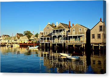 Quiet Harbor Canvas Print