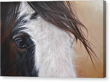 Quiet Light Canvas Print by Elena Kolotusha
