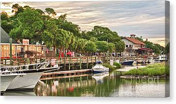 Quiet Morning At The Inlet II Canvas Print