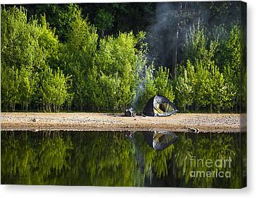 Quiet Morning Canvas Print by Svetlana Sewell
