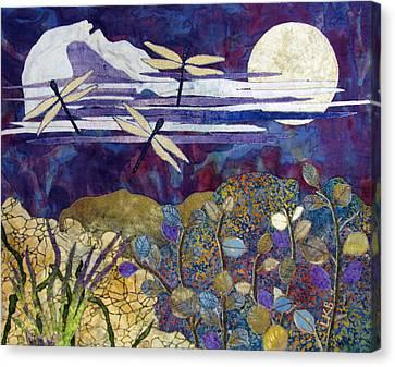 Quiet Summer Evening Canvas Print by Lynda K Boardman
