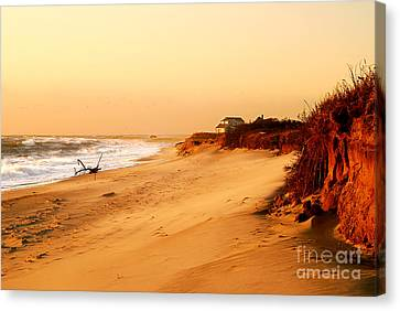 Quiet Summer Sunset Canvas Print by Sabine Jacobs