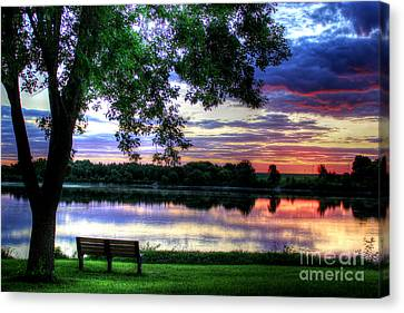 Quiet Canvas Print by Thomas Danilovich