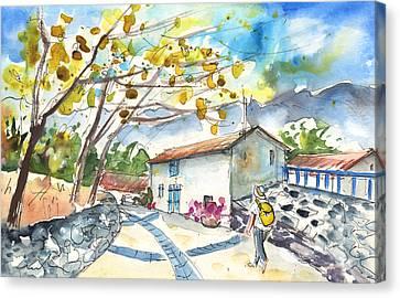 Quillan 02 Canvas Print by Miki De Goodaboom