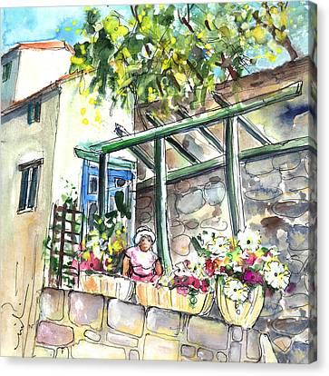 Quillan 04 Canvas Print by Miki De Goodaboom
