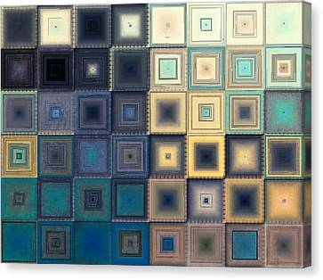 Quilted Blocks Canvas Print by Shawna Rowe