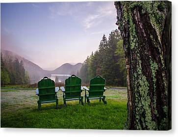 Quite A View Canvas Print by Kristopher Schoenleber