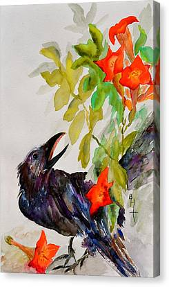 Quoi Canvas Print by Beverley Harper Tinsley