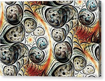 Quorum Sense Canvas Print by Anastasiya Malakhova