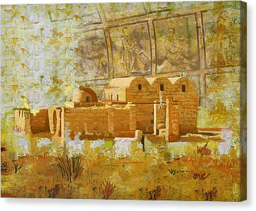 Quseir E Amra Canvas Print by Catf