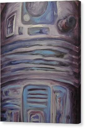 R2 Abstract Canvas Print by Howard Perry