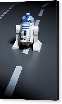 R2-d2 Canvas Print by Samuel Whitton