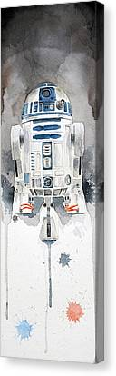 Stars Canvas Print - R2 by David Kraig