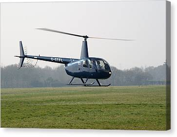 R44 Raven Helicopter Canvas Print
