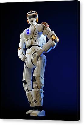 R5 Humanoid Robot Canvas Print by Nasa