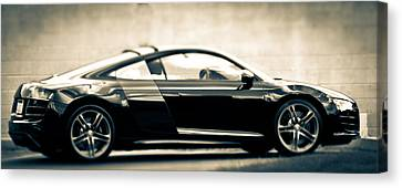 R8 Dreams In Black And White Canvas Print by Ronda Broatch