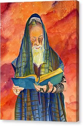 Rabbi I Canvas Print