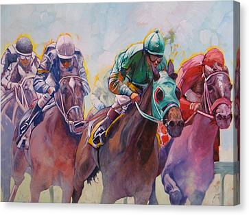 Race 2 Canvas Print