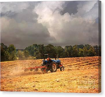 Race Against The Storm Canvas Print by Jai Johnson