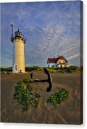Race Point Lighthouse Canvas Print by Susan Candelario