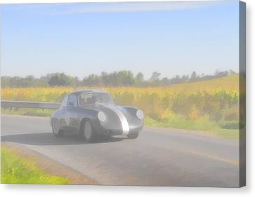 Racer Porsch 356 Canvas Print by Jack R Perry