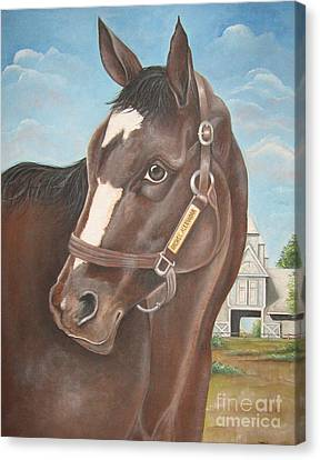 Rachel Alexandra At Stonestreet Farms Canvas Print