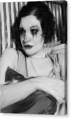 Rachel Jean Canvas Print by H James Hoff