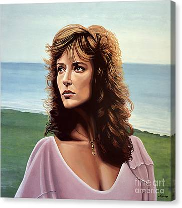 Odd Canvas Print - Rachel Ward by Paul Meijering