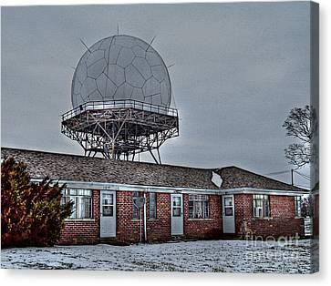 Radar Row Canvas Print by MJ Olsen