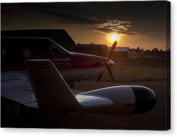 Radar Wing Canvas Print by Paul Job