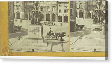 Radetzky Monument Czech Republic, Frantisek Fridrich Canvas Print