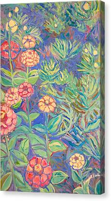 Radford Library Butterfly Garden Canvas Print by Kendall Kessler