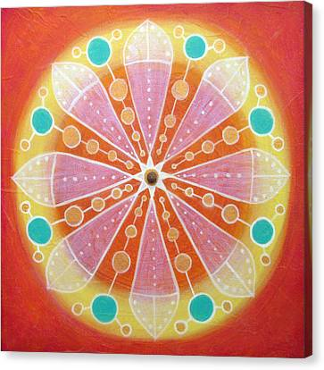 Radiance Canvas Print by Janelle Schneider