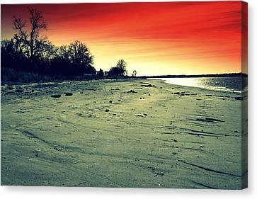 Radiant Dusk Canvas Print