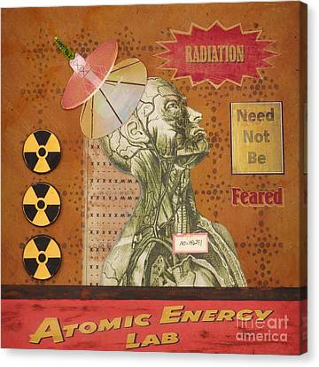 Radiation Need Not Be Feared Canvas Print by Desiree Paquette