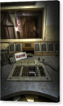 Radio Soviet One Canvas Print by Nathan Wright