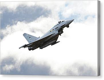 Raf Typhoon - 'ad Astra' Canvas Print by Pat Speirs