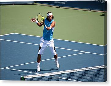 Rafael Nadal   Canvas Print by James Marvin Phelps