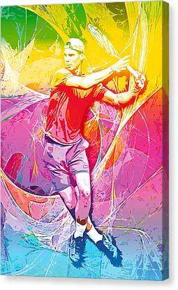 Rafael Nadal 01 Canvas Print by RochVanh