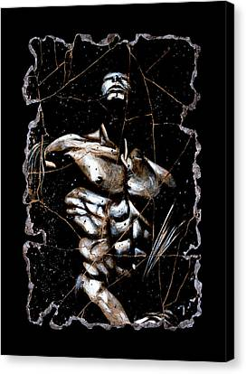 Male Nudes Canvas Print - Rafael by Steve Bogdanoff