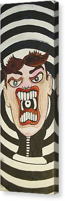 Rage Tillie Canvas Print by Patricia Arroyo