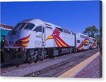 Rail Runner Santa Fe Canvas Print by Garry Gay