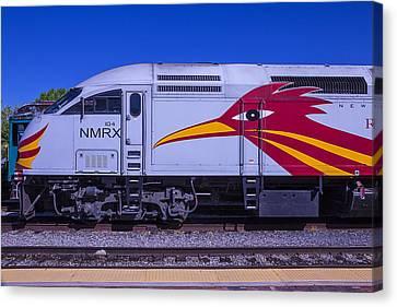 Rail Runner Train Canvas Print