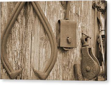Railroad Tools  Canvas Print by Kirt Tisdale