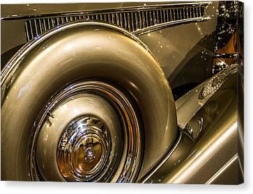 British Hot Rod Canvas Print - Railto Automobile by Glenn McGloughlin