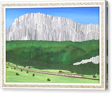 Railway Adventure Canvas Print
