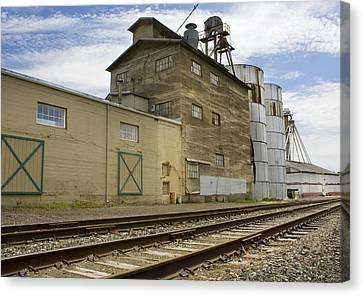 Railway Mill Canvas Print